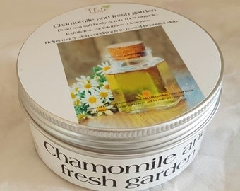 Chamomile and Fresh Garden Dead Sea Salt Scrub