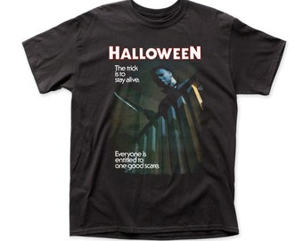 Halloween - Mens One Good Scare T-shirt - HLWN03(Black)