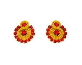 Earrings Soutache Grace S4