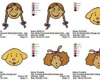 10 Arthur Embroidery Designs