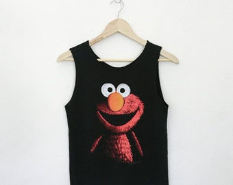 Distressed 1999 Sesame Street's Elmo Tank Top