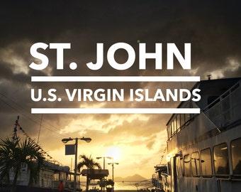 St. John, U.S. Virgin Islands Print