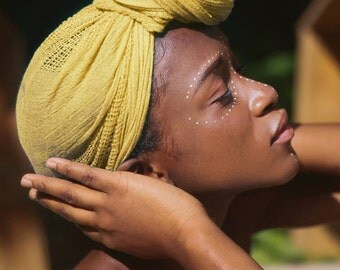 Beautiful Woman- African Photography Print- House Decor - Wall Art Print