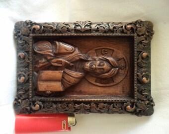 Jesus, Art wood carving, Handmade, Orthodox Christian, Beautiful icons, Religious Icon