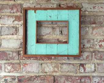 """Reclaimed Wood Frame-Recycled Wood Frame-Reclaimed Art-Choose your size 4"""" x 6"""", 5"""" x 7"""", 8 """"x 10"""""""