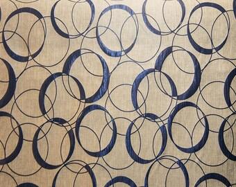 Drapery/Upholstery Home Decor Modern Fabric Palladium131 Midnight by the Yard