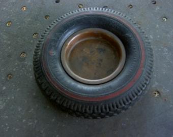 Ashtray tire wheel