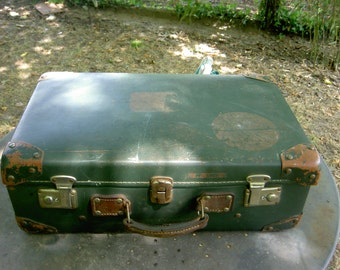 Suitcase old 60/70