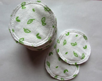 20 Reusable Facial Rounds - Leaves