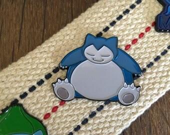 Sale IMPERFECT Pokemon Go Enamel Lapel Pin - Snorlax DISCONTINUED