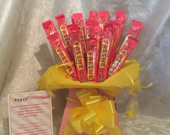 Refresher chewy bar bouquet