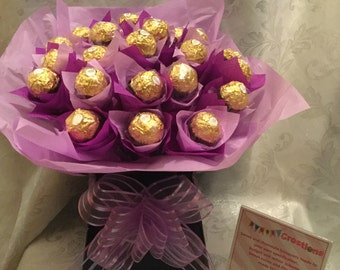 Ferrero rocher chocolate bouquet free postage