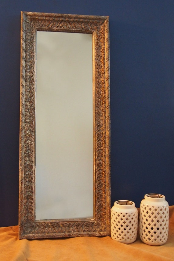 Rajasthan Carved Frame Mirror