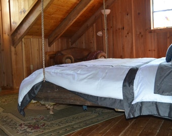 RECLAIMED WOOD Hanging Bed