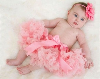 Pale Pink Baby Tutu Pettiskirt 0-1 years