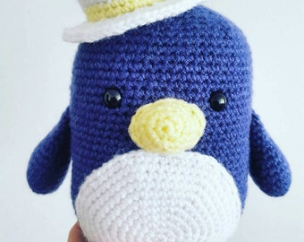 Mr.Blueberry The Dapper Penguin