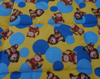 Puppies and Kittens Baby Blanket/