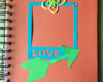 bright butterfly journal