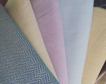 Handwoven cotton blanket