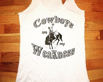 Cowboys are My Weakness tank