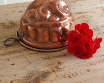 Copper Vintage Jelly Mould