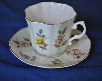 Royal Grafton Bone China Tea Cup and Saucer