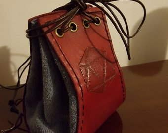 Leather Dice Pouch