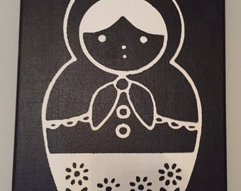 "Matryoshka Canvas Art 8""x10"""