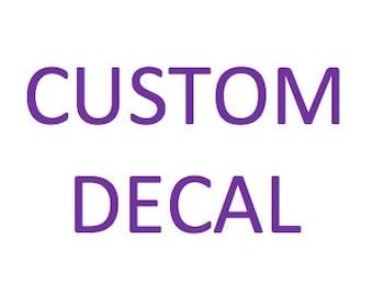 2 Custom Decals