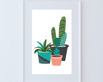 "The ""Cacti"" Print"