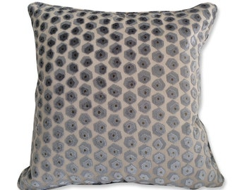 Groundworks Velvet Pattern Pillow Cover