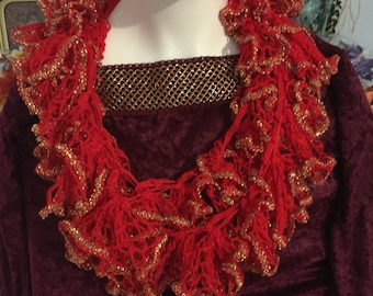Hand made scarf to dress up an outfit