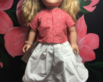 "18"" Doll Shirt & Skirt"