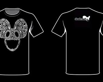 Deadmau5 floral shirt