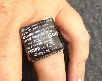 Scripture Ring