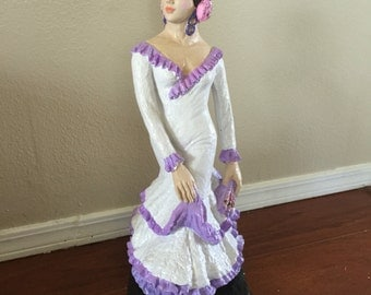Hand painted Spanish Sevilla Dancer-Vintage