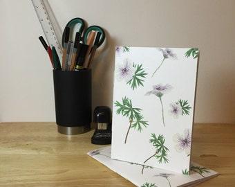 Geraniums Notebook