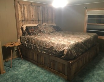 Items similar to custom one of a kind driftwood bed frames for One of a kind beds
