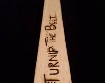 SPUN Wooden Spoon - Turnip the Beet