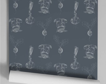 Wallpaper Grey Slate Bob