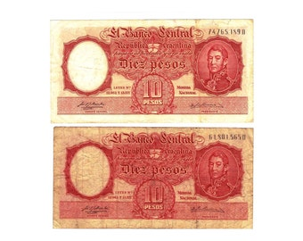 Argentina Banknotes