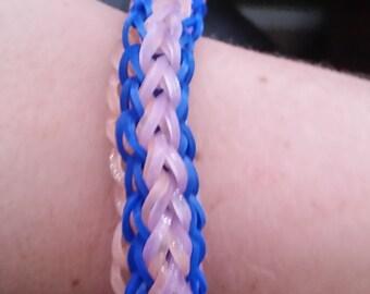 Waffle Cone Rainbow Loom Bracelet