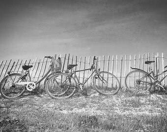 Bikes at the Beach - Limited Edition Photography Print