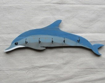 Rustic Dolphin Key Holder