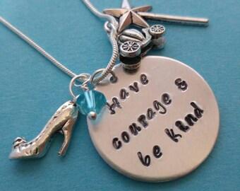 Cinderella inspired Charm Necklace
