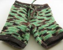 Wool Shorts, Shorties, crocheted shorts, baby
