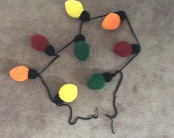 Crochet Christmas Large Lights