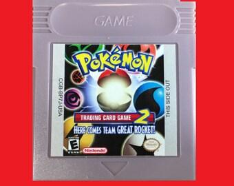 Pokemon Trading Card Game 2 English Translated Custom - Game Boy Color (GBC) / GBA Nintendo