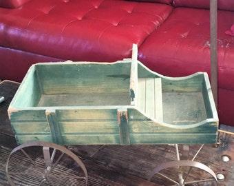 Child's Vintage Homemade Wagon
