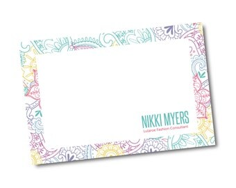 Customized Thank You Note Card File- digital file- 4x6
